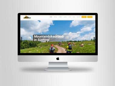 "Bike Rental Website in ""German language"" for my Italy Client"