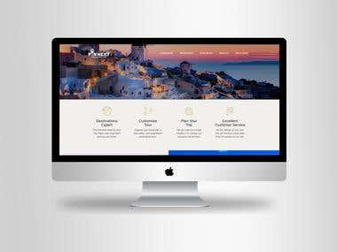 """Logo Design For """"Travel- Website"""" ."""