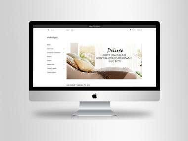"""SHOPIFY"" Online Store."