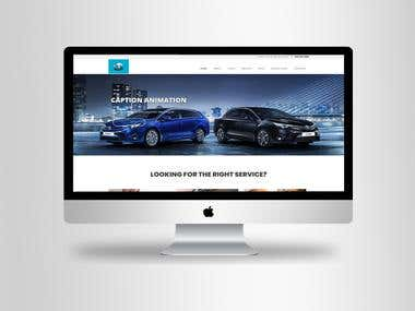 Car Rental Website.
