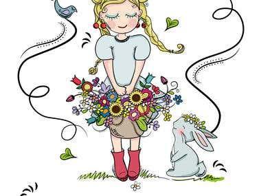 garden project illustration