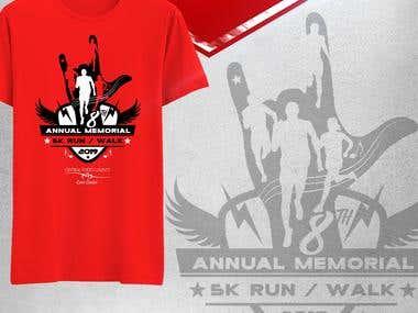 Fun Run Shirt Design