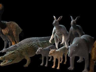 Australian prehistorical animals