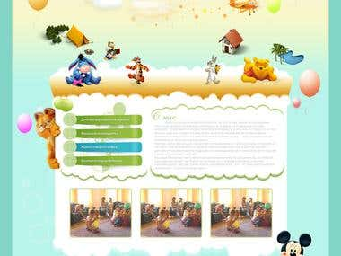 Kids site design
