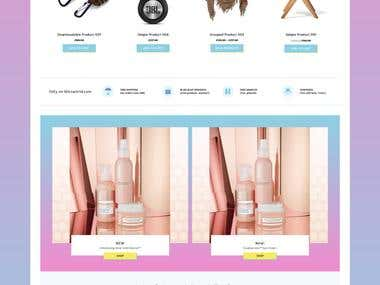 Fully Functional Ecommerce Store