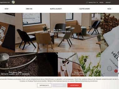 Coffee eCommerce Website - PHP