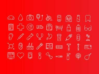 Medical - Icon Set