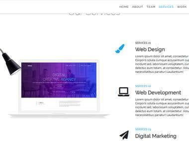 creative web dessign
