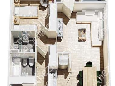 Floor plan Cramer