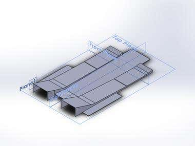 Vehicle Undertray CAD Model