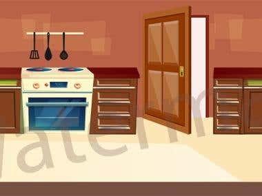 2D Kitchen Design