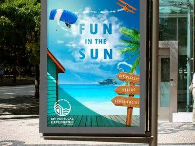 outdoor advertisment
