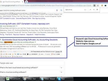 SE : Google.af, Web: Ajas.com.au