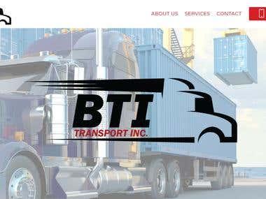 Website for BTI Transport www.btitransport.com