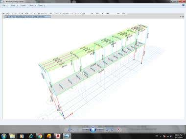steel design and project data control