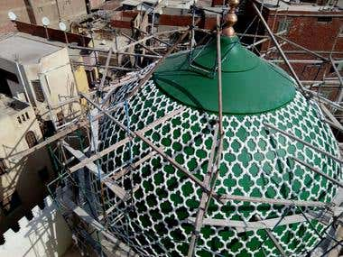 design and construction of Islamic mosque