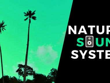 """Banner for YouTube Channel """"Natura Sound System"""""""