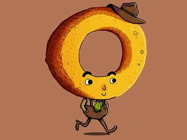 Onion Ring Man