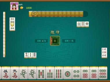 Online Game for Chinese Mahjang