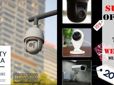 Social-Media CCTV camera