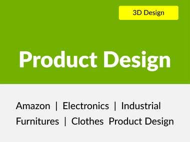 Amazon 3d Product Design