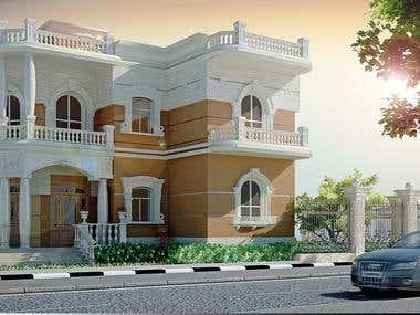 Private Villa Exterior Design