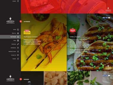 PSD to HTML   Parallax Design