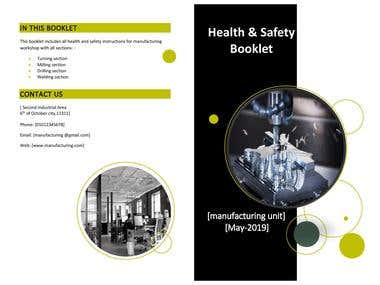 Safety booklet & Poster