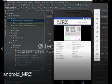 Android for MRZ recognition