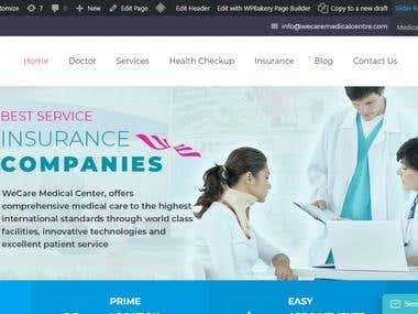 Wecare Medical website (https://www.wecaremedic.com/)