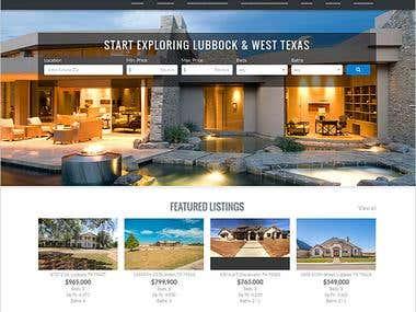 Real Estate Web Site Development