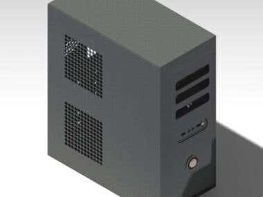 CPU Sheet-metal box design