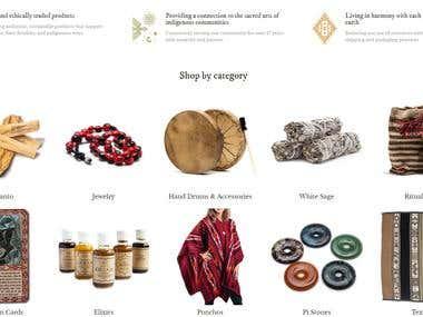 Shopify - Shamans Market