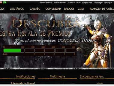 Programacion para Juego en linea con tienda Online