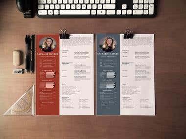 Digital CV & Resume