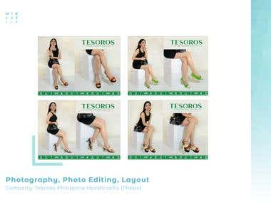 Tesoros Digital Illustration, Photog & Photo Editing Layout