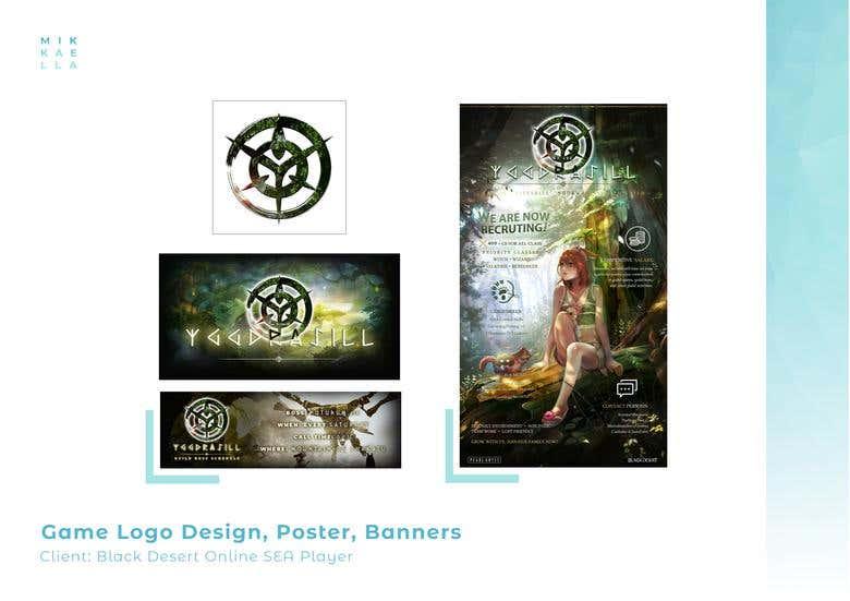 Game Logo, Posters, Banners, & Social Media Postings