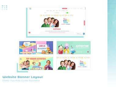 Fun Kids Guide AU Website Banners