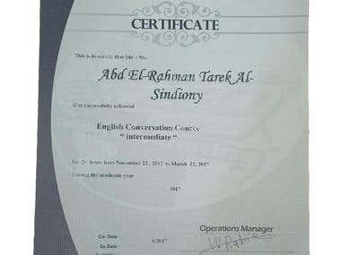 English certification