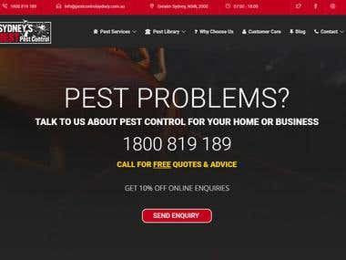 Backlink work for pestexperts