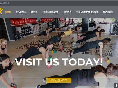 Female Gym Website