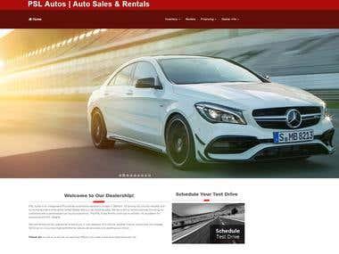 Auto Mobile Website
