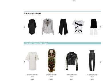 Magento eCommerce site custumization