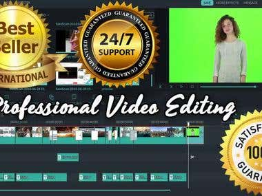 I will do expert video editing