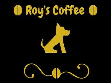 Romy H - Roy's Coffee Logo