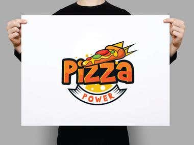 Pizza Brand Logo Design