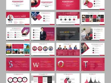 Premium Red theme cabusian presentation