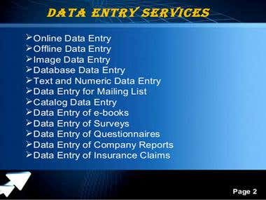 DATA ENTRY PDF to MS Excel/Word Copy Paste Work