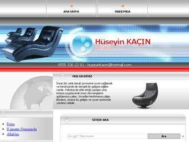 Website design for psychologist