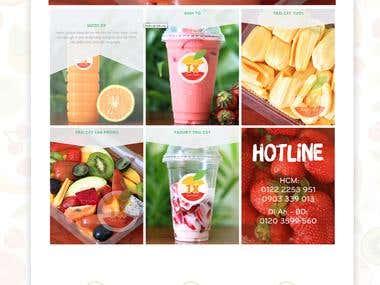 Tuoi xanh fruit website